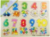 Yunhe wooden toys /Panel (number)