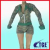 action figure or toy sexy camouflage clothing
