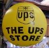 advertising helium balloon for UPS