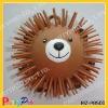 animal flashing fluffy ball yoyo ball puffer ball