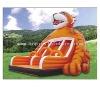 animal inflatable slide