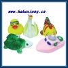 animal vinyl toys baby bath toys paddle toys