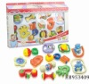 baby bell 12pcs, children intelligent plastic toys rattle