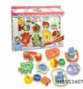 baby bell 9pcs, children intelligent plastic toys rattle