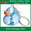 bath duck keychain