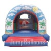 beach theme bouncer inflatables J1049