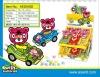 bear car candy toy