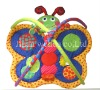 beautiful butterfly shape with hanging toys baby play mats