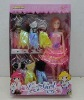 beautiful dolls with clothes packed in window box TY11100196