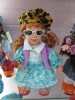 beautiful plastic fashion doll