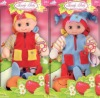 beautiful smile cute soft stuffed and plush baby doll toys