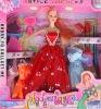 beauty doll, plastic doll