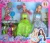 beauty doll, plastic doll, doll set