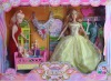 bendable doll, toy set