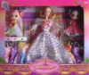 bendable doll with 2 ddung