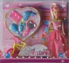 bendable doll with accessories