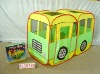 bus toy tent
