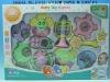 cartoon 10pcs baby rattle set
