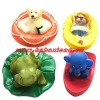 cartoon figure floating baby bath toys set