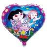 cartoon mylar balloon