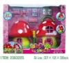 cartoon plastic doll house