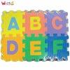 children alphabet eva play mat