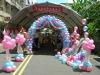 coloful decoration balloons