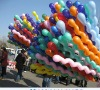 color balloon twisting