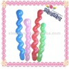 colorful latex screw balloon