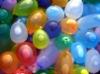 colorful latex water balloon