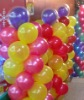 colorful round latex balloon