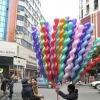 colorful screw balloon