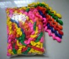 colorful screw latex balloon