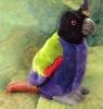 custom plush bird/promotional plush animal