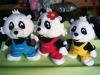 custom stuffed animal toy/plush panda