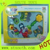 cute 6 kind of  plastic baby toys