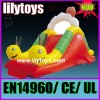 cute Caterpillar worm inflatable with EN14960 certification