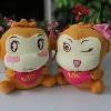 cute animal plush toy with heart,plush stuffed monkey,plush monkey,beautiful plush cute doll toys