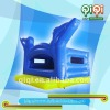 dark blue dolphin inflatable jumping bounce