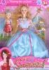 "doll set, 11.5"" plastic doll"