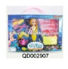 dress up doll 3.5 inch Mermaid Fashion Doll with Accessories