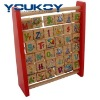 educational ABC wooden toy