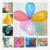 falsh round big 3 latex balloon