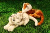 fashion animal plush cartoon tiger