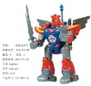 fashion design transforming robot toy with gun and sword RB4203453