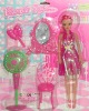 fashion doll, plastic doll