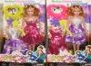 fashion doll, plastic doll
