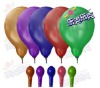 flash round 6 latex balloon