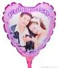 heart shape diy photo balloons
