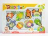 hot sell plastic baby rattle E2645-P76116